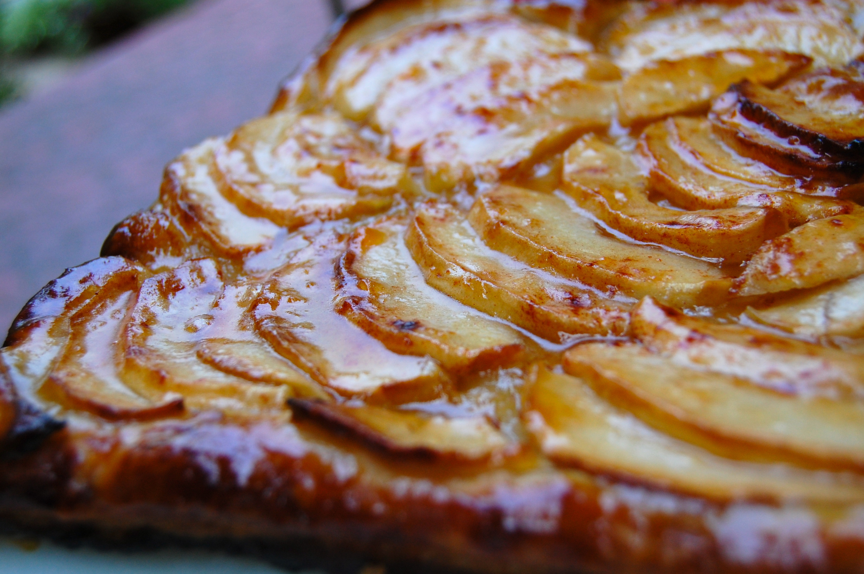 Easy French Apple Tart Seasoned To Taste